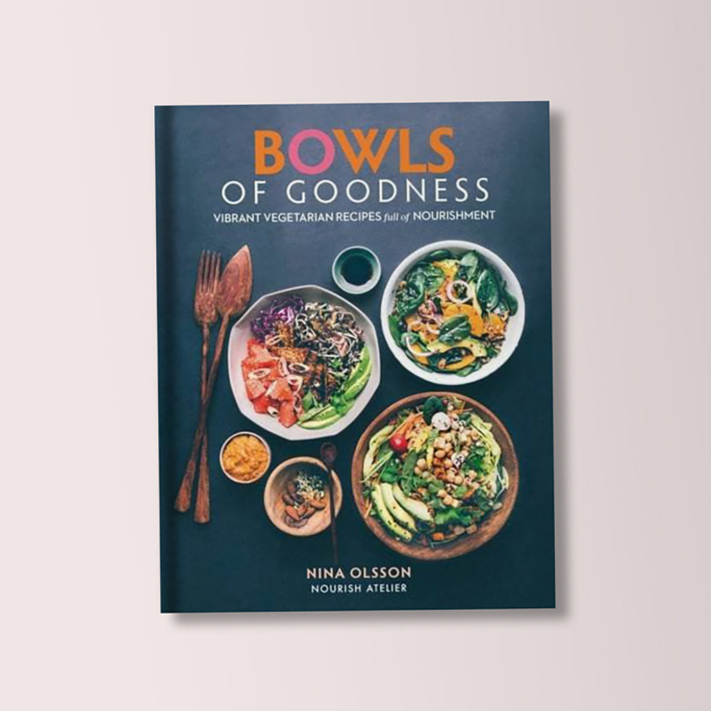Bowls of Goodness Cookbook by Nina Olsson - Buy online or shop in the Jo & Co Lifestyle, Home and Furniture store in Wadebridge, North Cornwall, UK