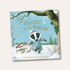 Home In The Snow Children's Book By Peter Bently & Charles Fuge
