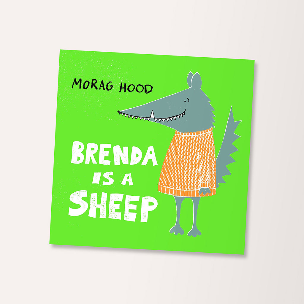 Brenda Is A Sheep Children's Book