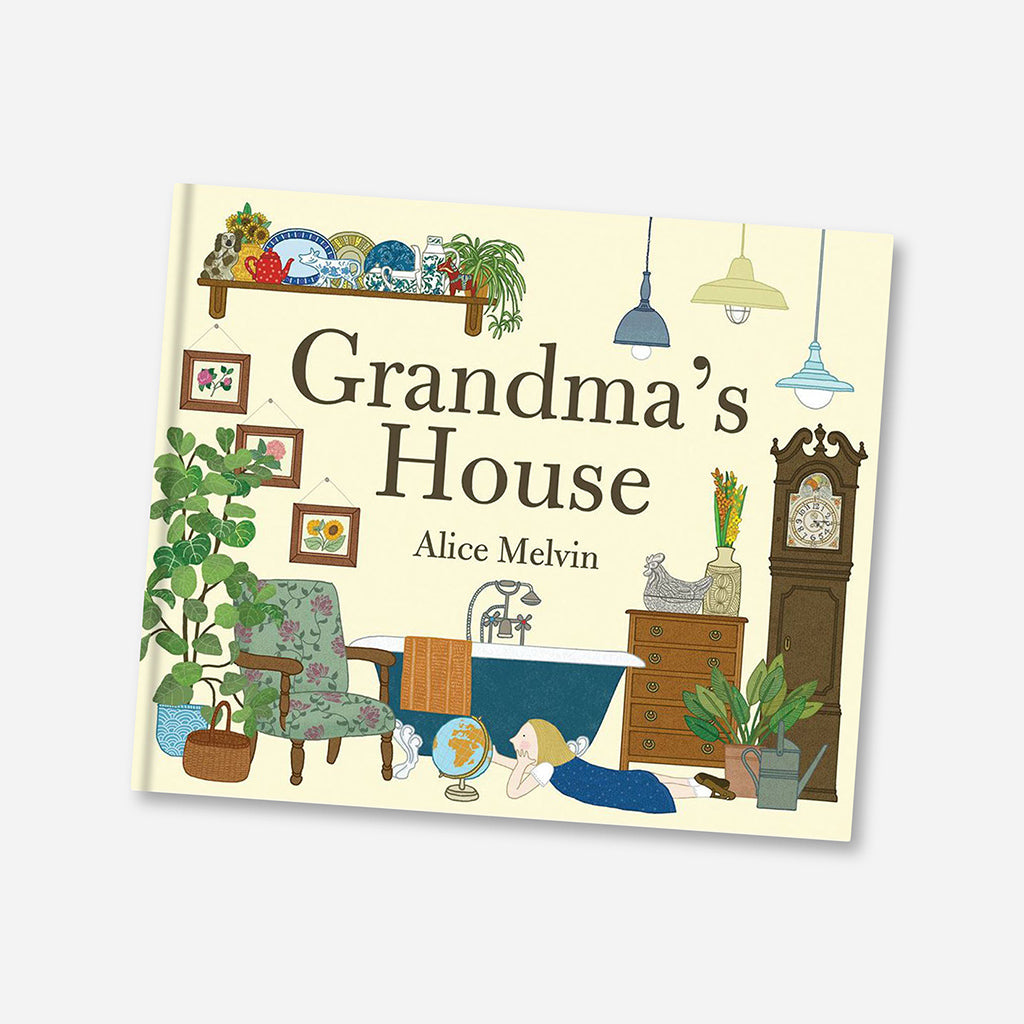 Grandma's House Children's Book By Alice Melvin