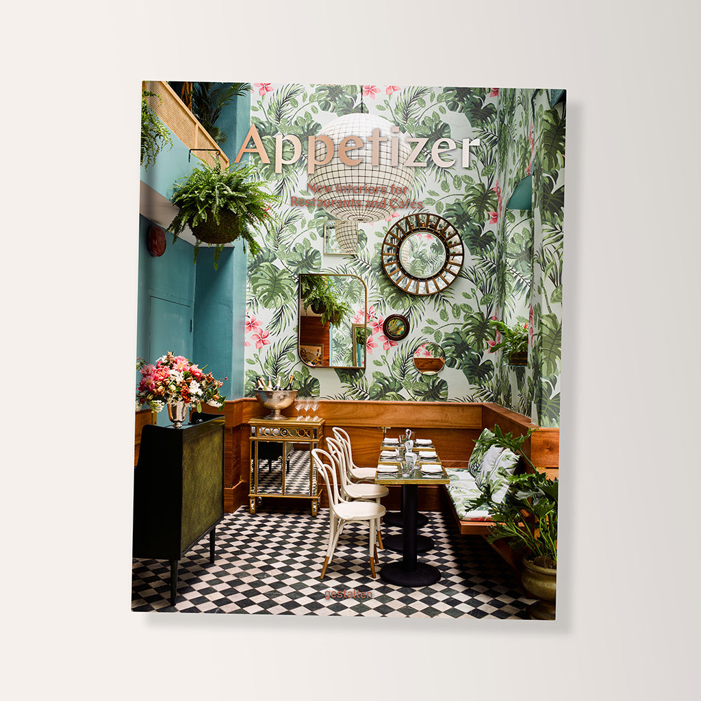 Appetizer: New Interiors For Resturants And Cafes Book - Buy online or shop in the Jo & Co Lifestyle, Home and Furniture store in Wadebridge, North Cornwall, UK