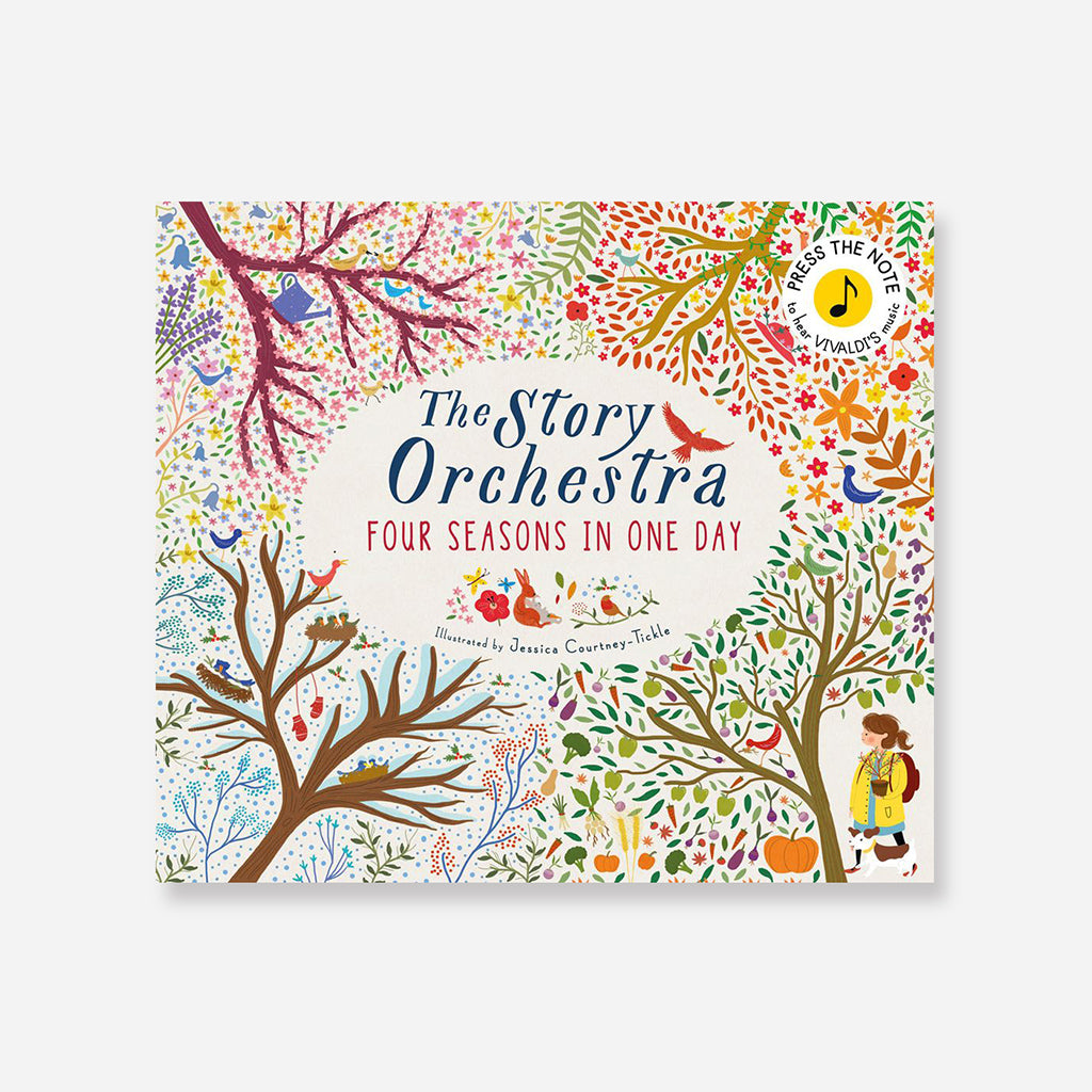 Story Orchestra: Four Seasons In One Day Children's Book By Jessica Courtney-Tickle