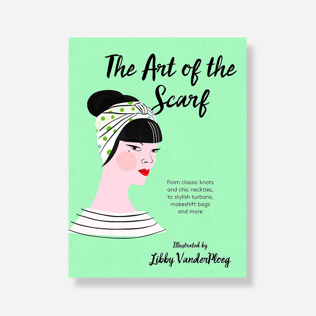 Art Of The Scarf Book By Libby VanderPloeg - Buy online or shop in store at Jo & Co Home, Wadebridge, North Cornwall, UK