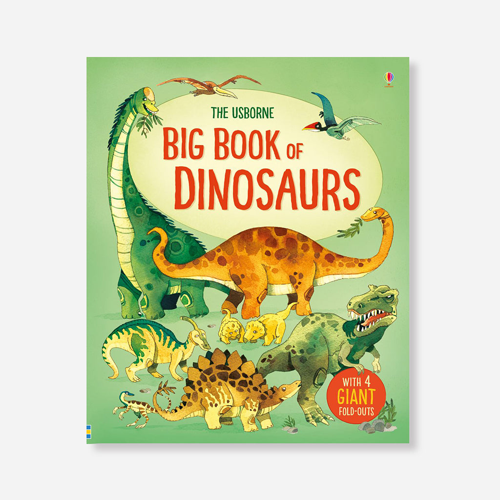 Big Book of Dinosaurs by Alex Frith & Fabiano Florin