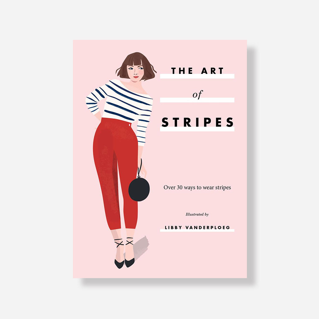 Art Of Stripes Book By Libby VanderPloeg - Buy online or shop in store at Jo & Co Home, Wadebridge, North Cornwall, UK