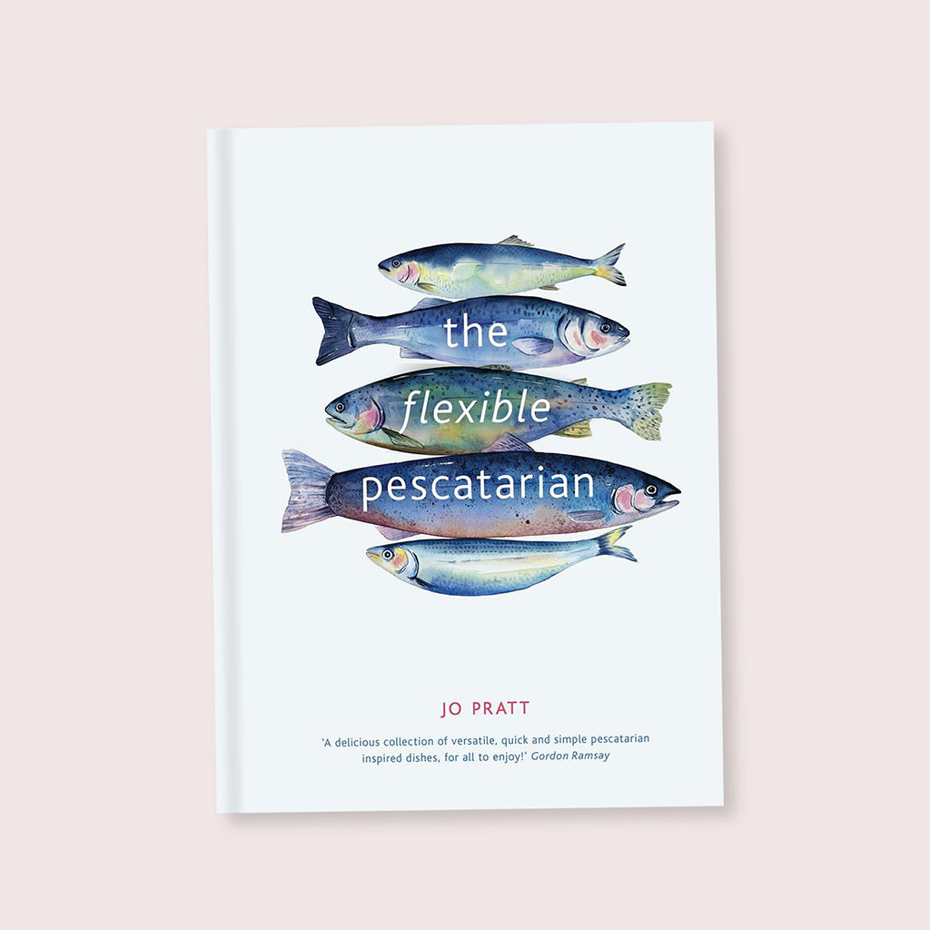 Flexible Pescatarian Cookbook Book By Jo Pratt - Buy online or shop in the Jo & Co Lifestyle, Home and Furniture store in Wadebridge, North Cornwall, UK