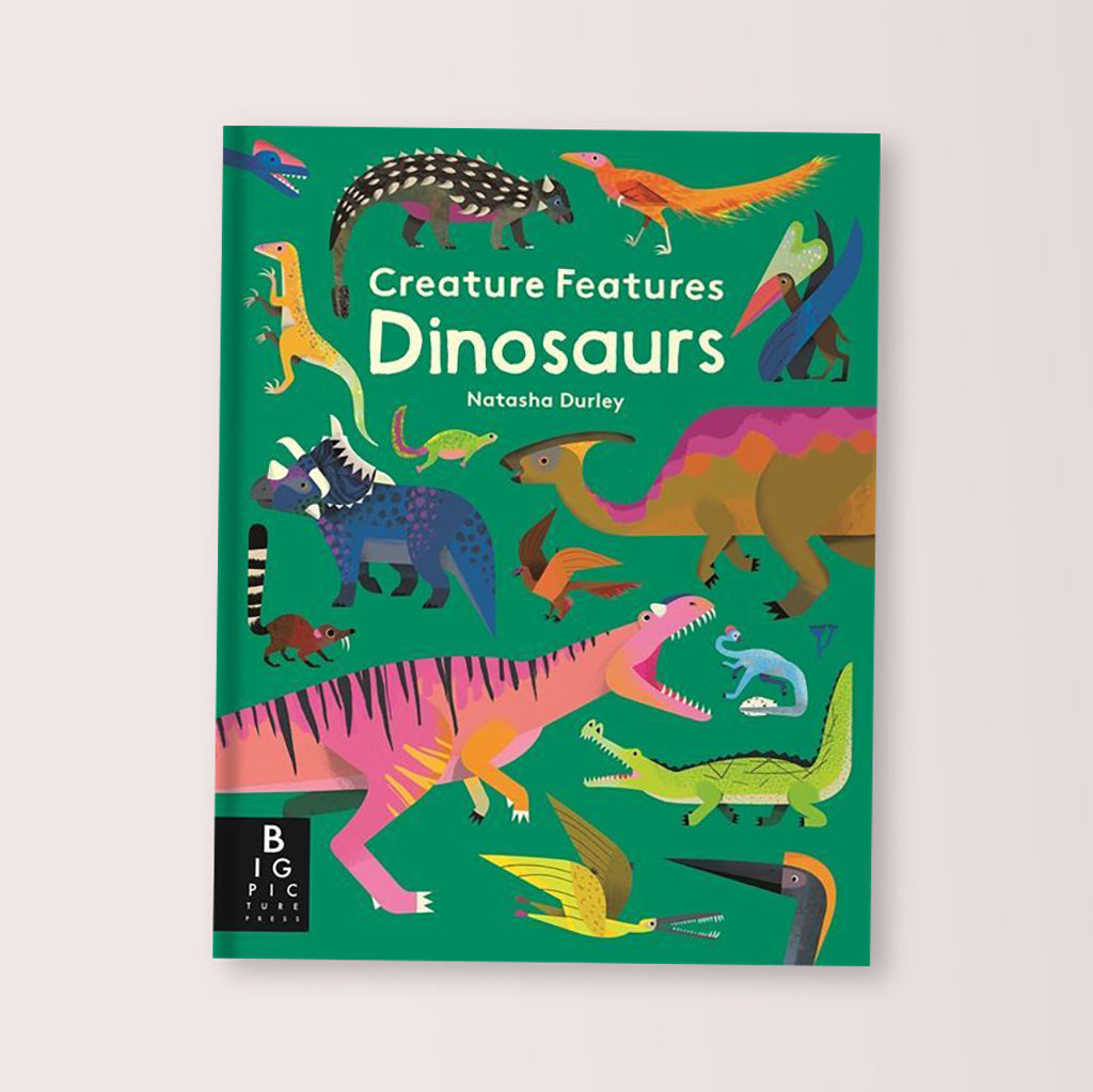 Creature Features: Dinosaurs Children's Book By Natasha Durley