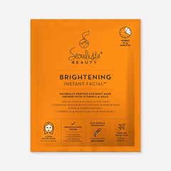 Seoulista Beauty Brightening Instant Facial Face Mask