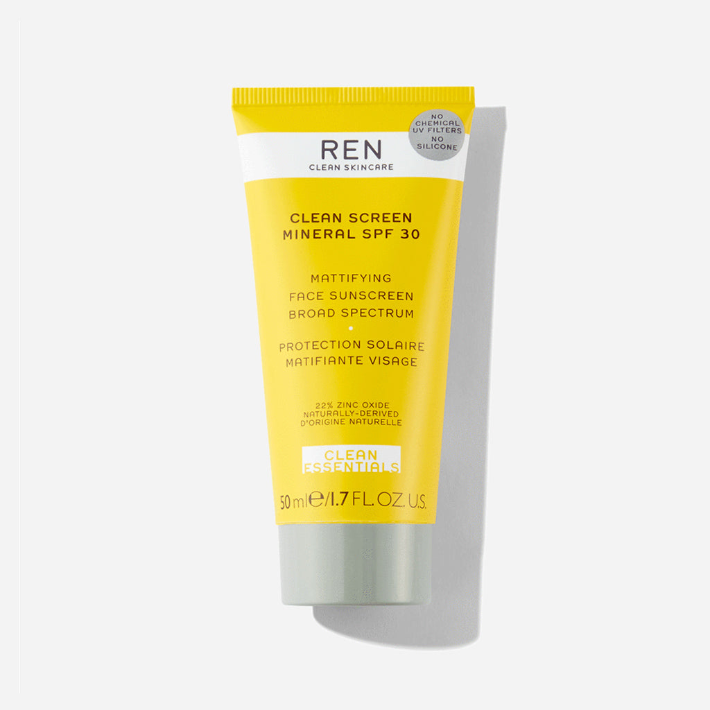 REN Clean Screen SPF 30 Mineral Sunscreen 50ml - Buy online or shop in the Jo & Co Lifestyle, Home and Furniture store in Wadebridge, North Cornwall, UK