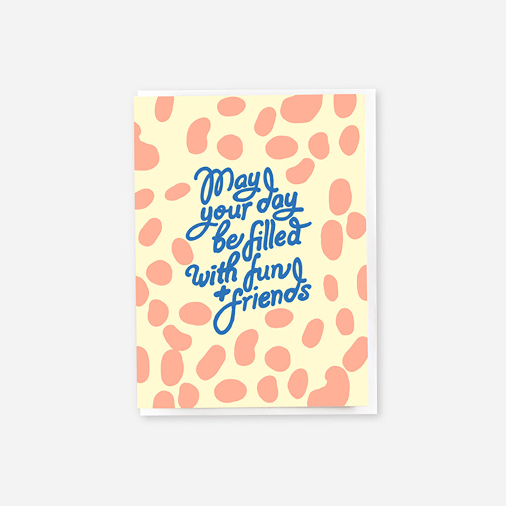 Fun Friends Mini Greeting Card