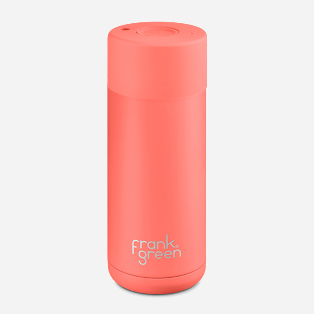Frank Green Ceramic Living Coral Reusable Cup 16oz