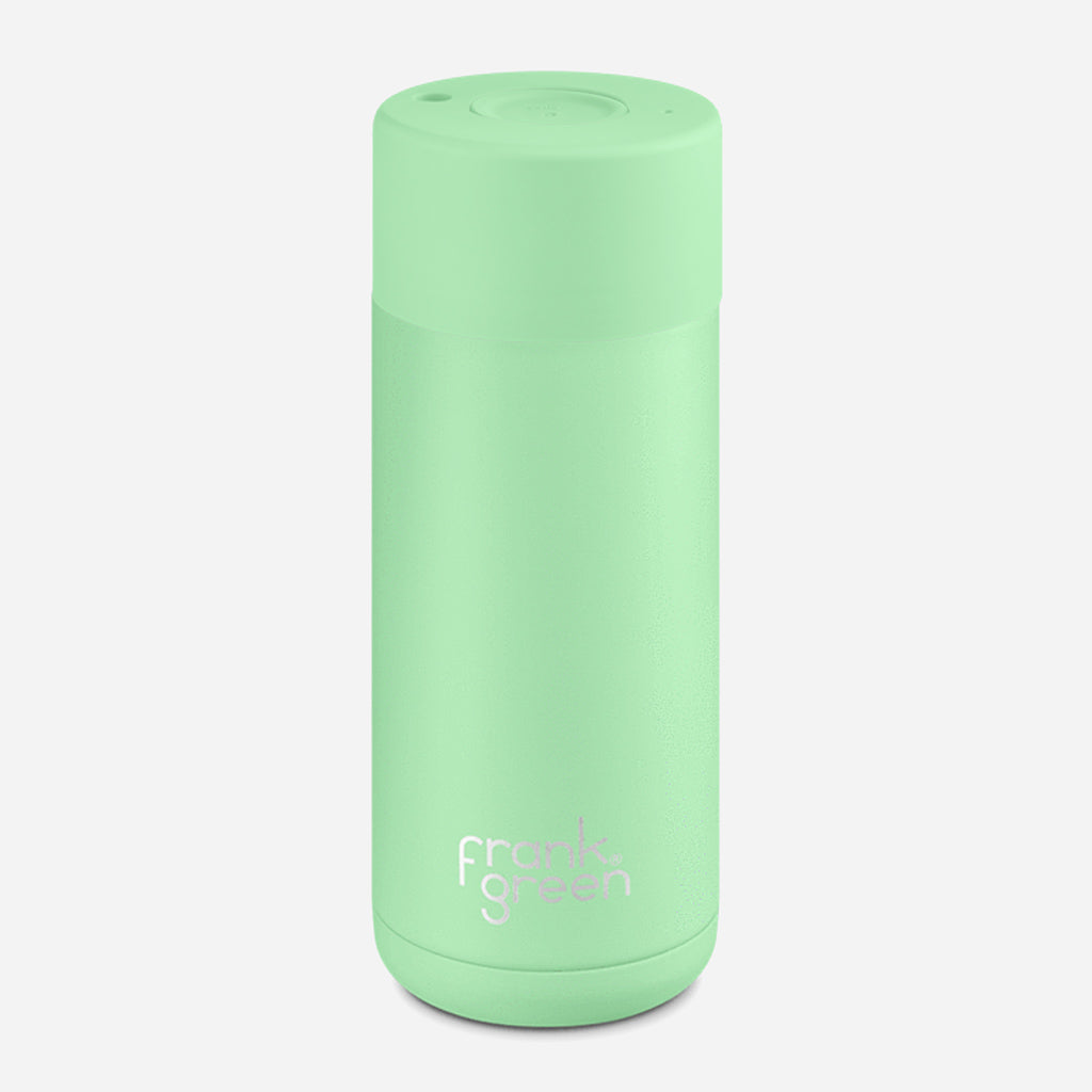 Frank Green Ceramic Mint Gelato Reusable Cup 16oz