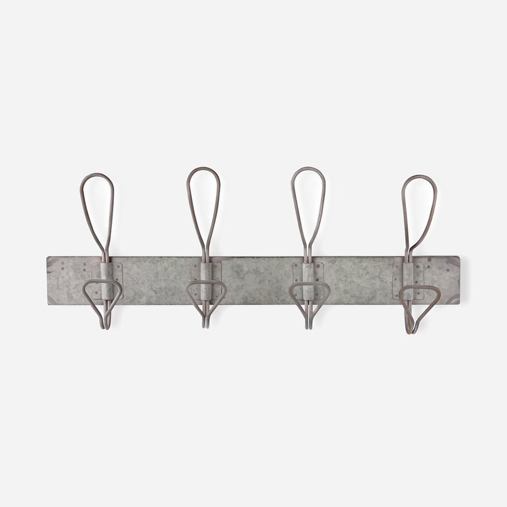 Galvanised Steel Antique Hook Rail