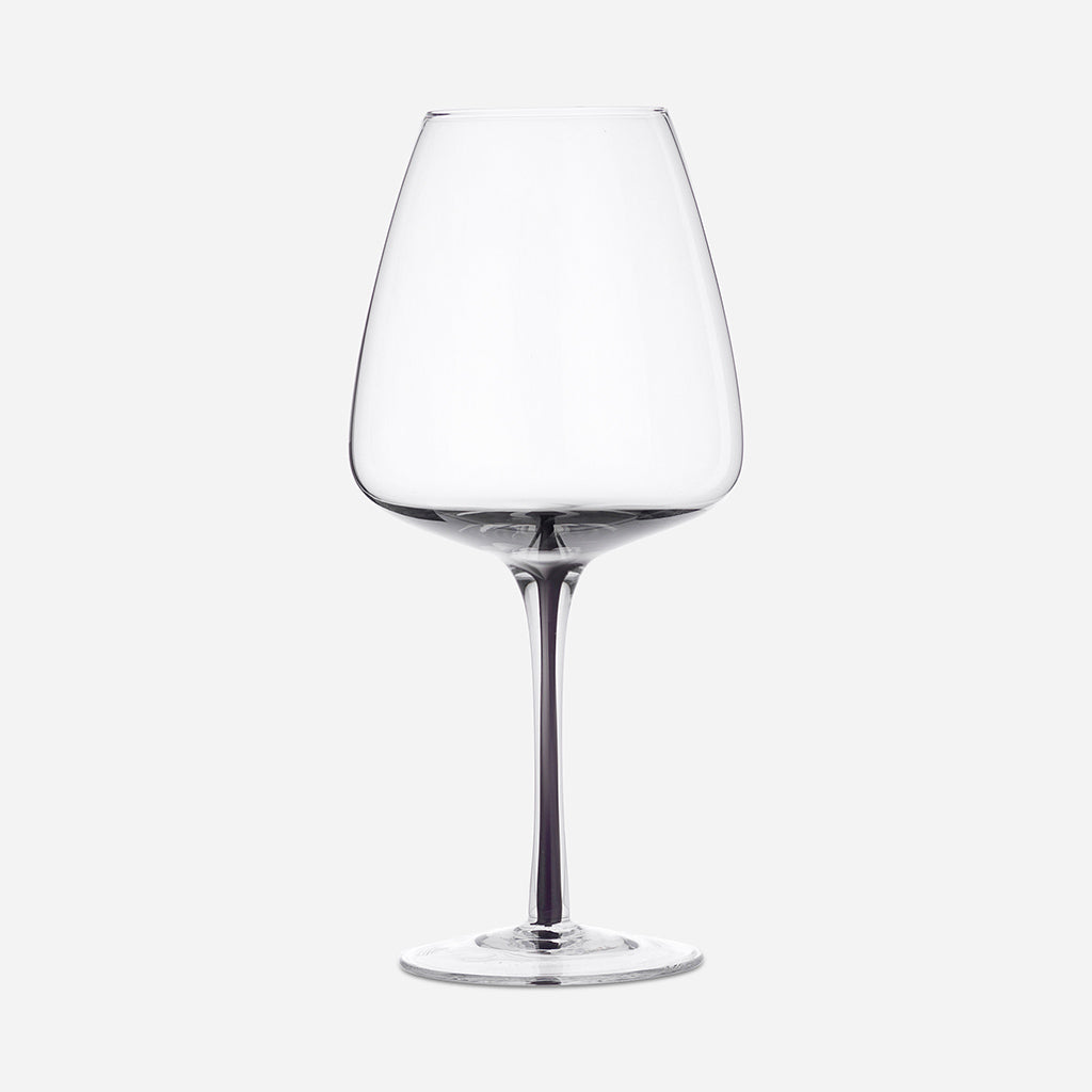 Smoke Grey Red Wine Glass - Buy online or shop in the Jo & Co Lifestyle, Home and Furniture store in Wadebridge, North Cornwall, UK