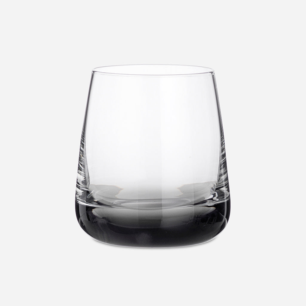 Smoke Grey Glass Tumbler - Buy online or shop in the Jo & Co Lifestyle, Home and Furniture store in Wadebridge, North Cornwall, UK