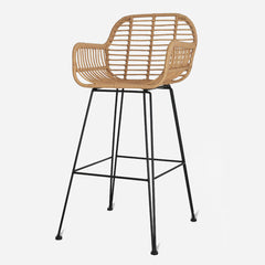 Bamboo Bar Stool