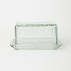 Covered Glass Butter Dish | Jo & Co Home
