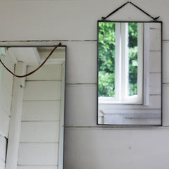 Jo and Co Home Zinc Mirror