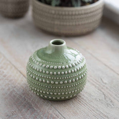 Medium Sage Castello Bottle Vase