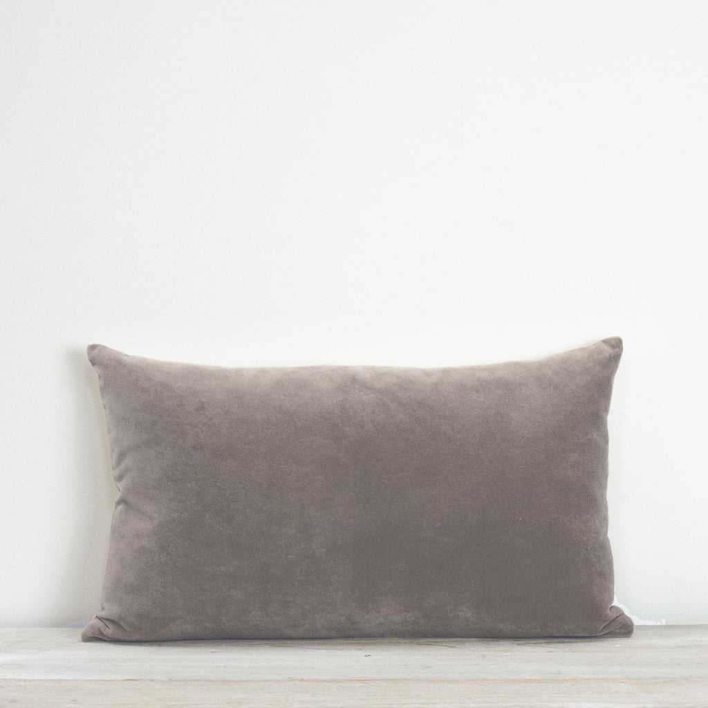 Misi Taupe Velvet Cushion