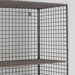 Large Mesh Shelving Unit