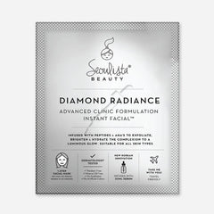 Seoulista Beauty Diamond Radiance Instant Facial Mask