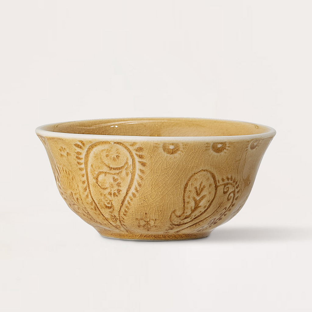 Rani Yellow Stoneware Bowl