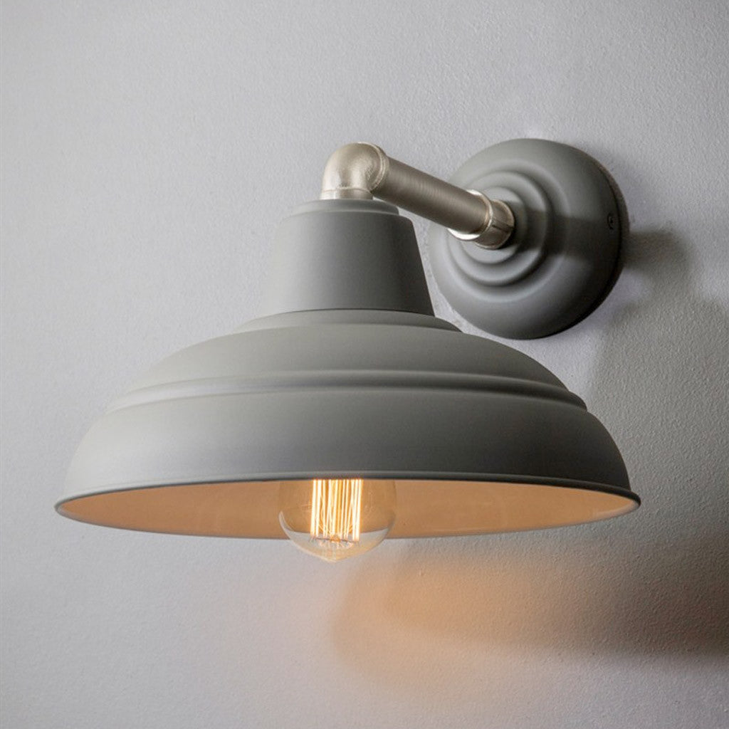 Southwark Wall Light in Charcoal | Jo & Co Home