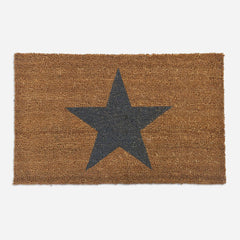 Small Coir Star Doormat