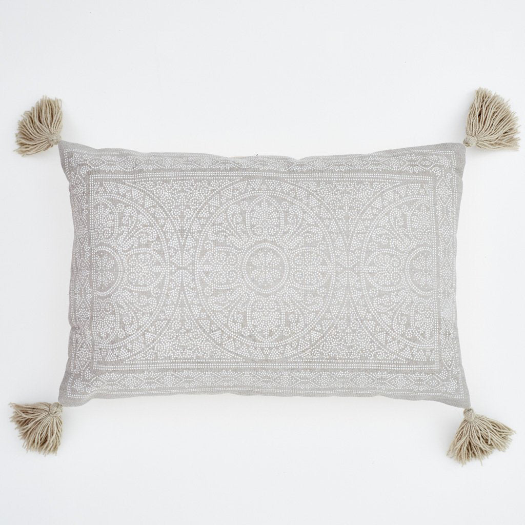Kas Chinchilla Grey Cushion