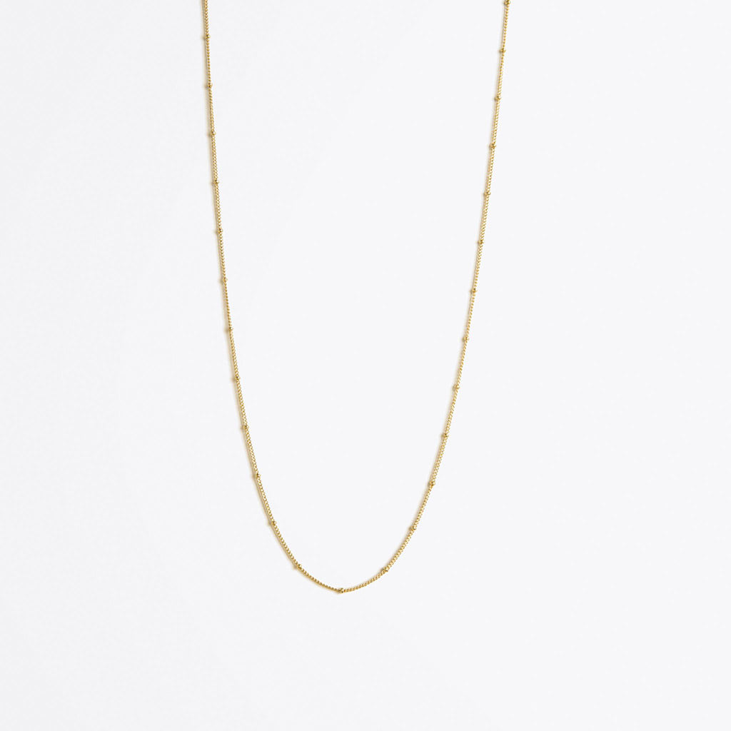 Wanderlust Life Satellite Layering Gold Chain Long Length Necklace