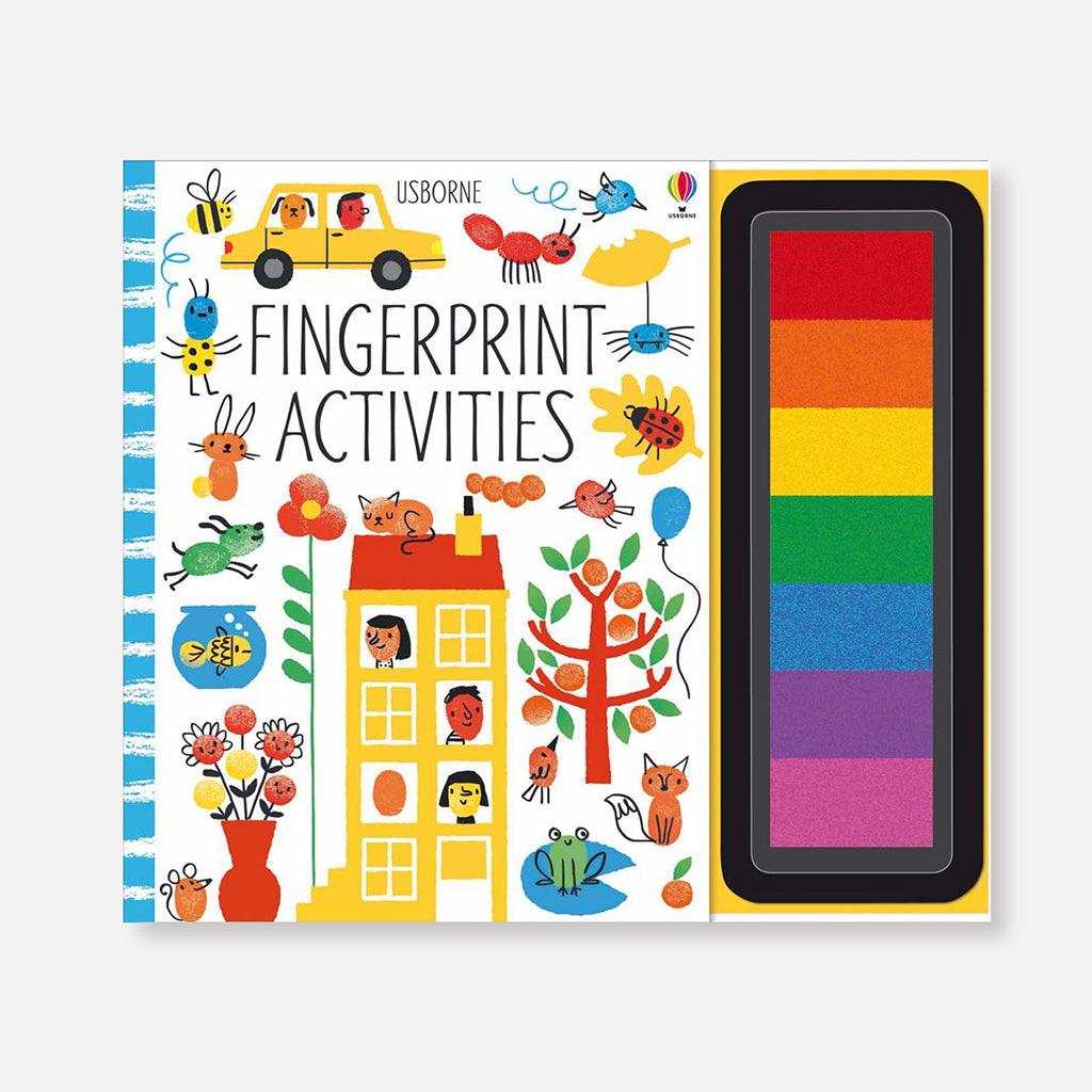 Fingerprint Activities Children's Book