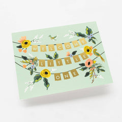 Rifle Paper Co. Welcome Little One Greeting Card