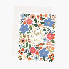 Rifle Paper Co. Wild Rose Thank You Card