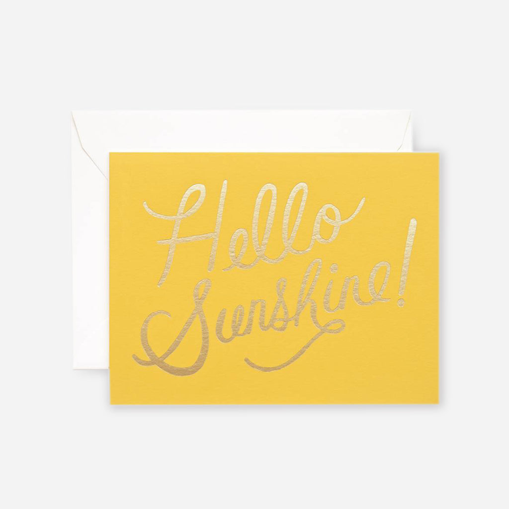 Rifle Paper Co. Hello Sunshine Greeting Card