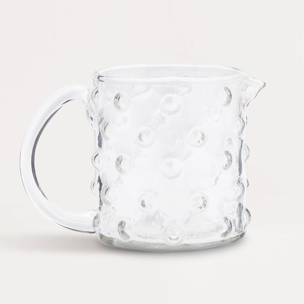 Glass Dots Jug