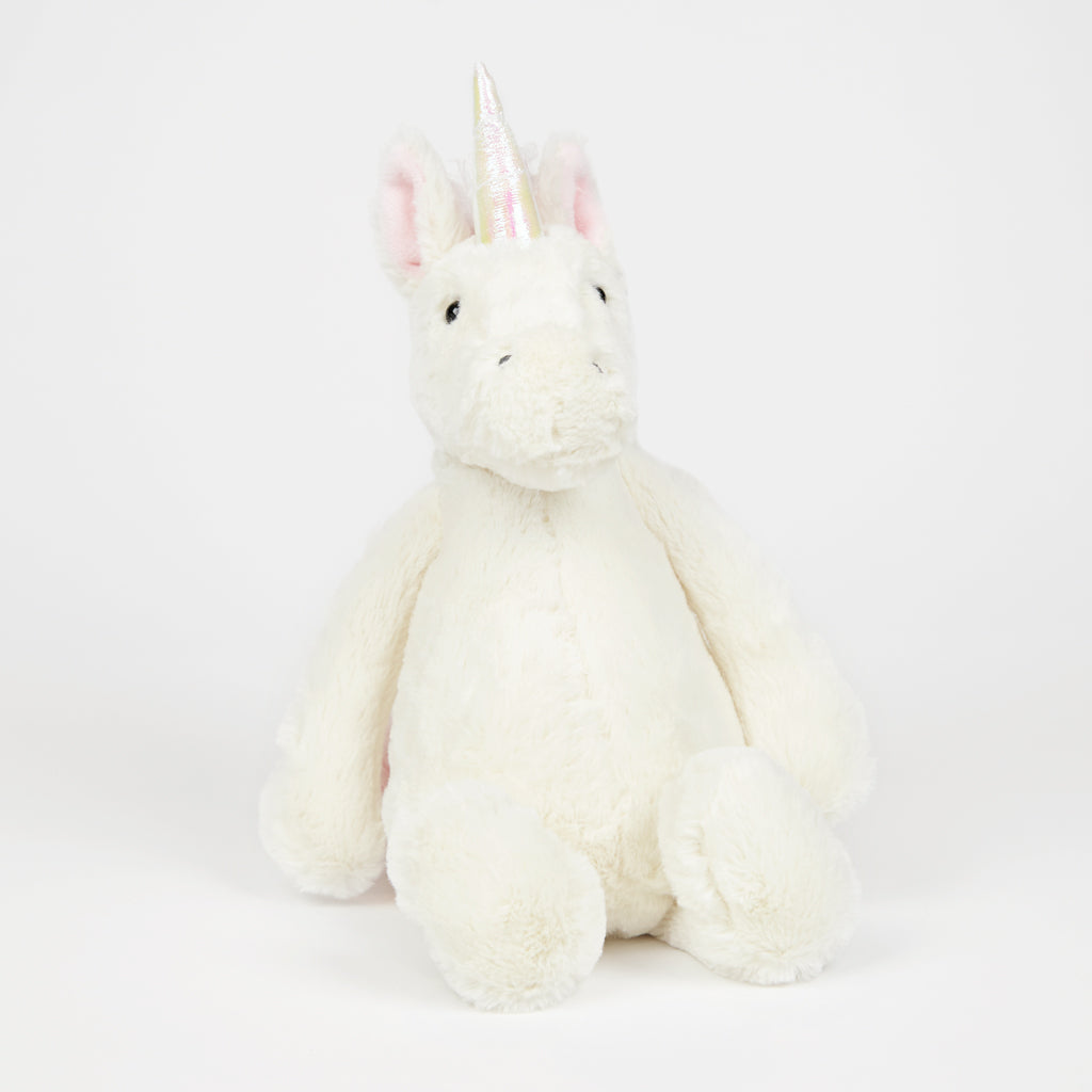 Jellycat Bashful Unicorn Medium Soft Toy - Shop Online at Jo & Co Home, Cornwall