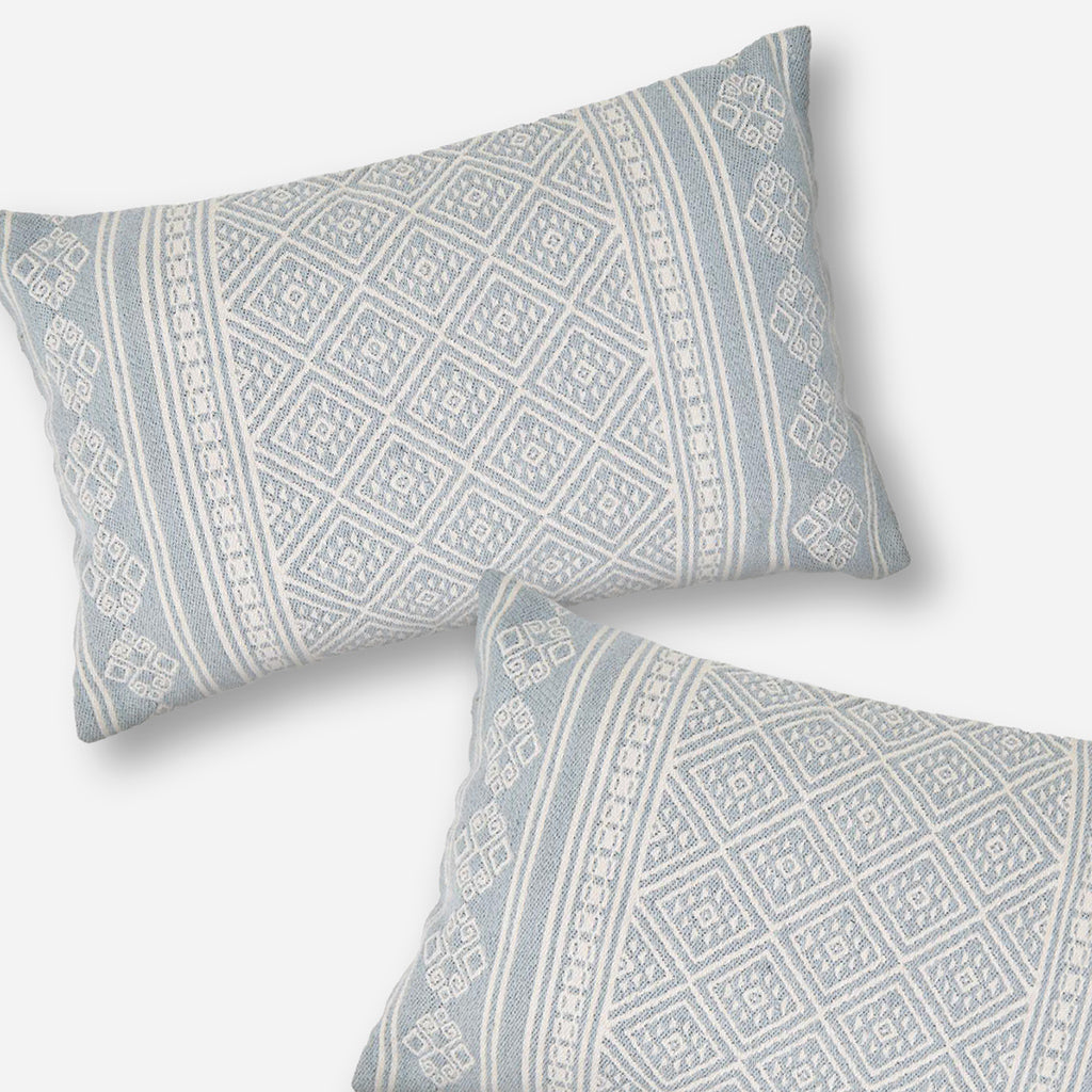 Kalkan Cornflower Blue Cushion