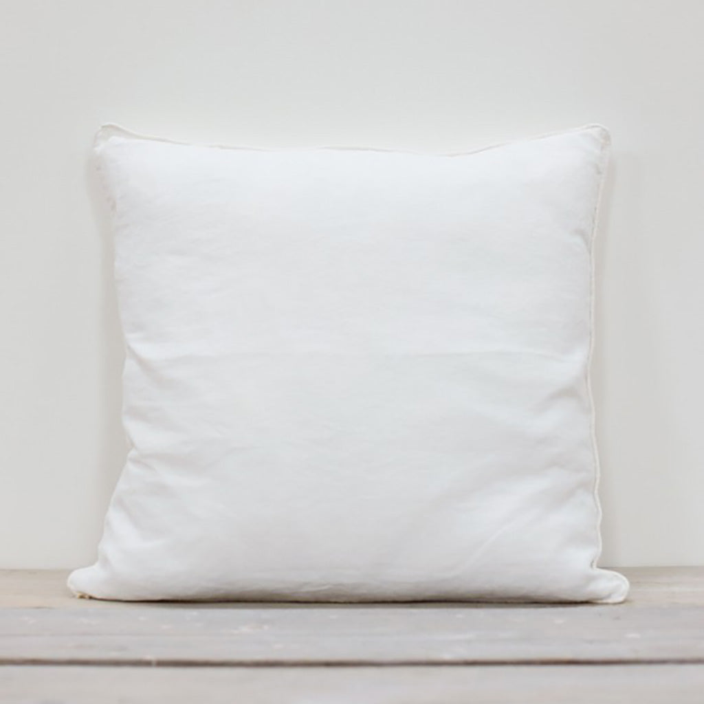 Lisbon Cushion In White