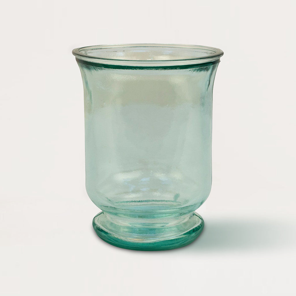 Small Hurricane Glass Candle Holder