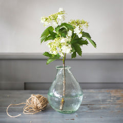 Small Recycled Glass Vase