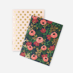 Rifle Paper Co. Rosa Mini Pocket Notebook Set