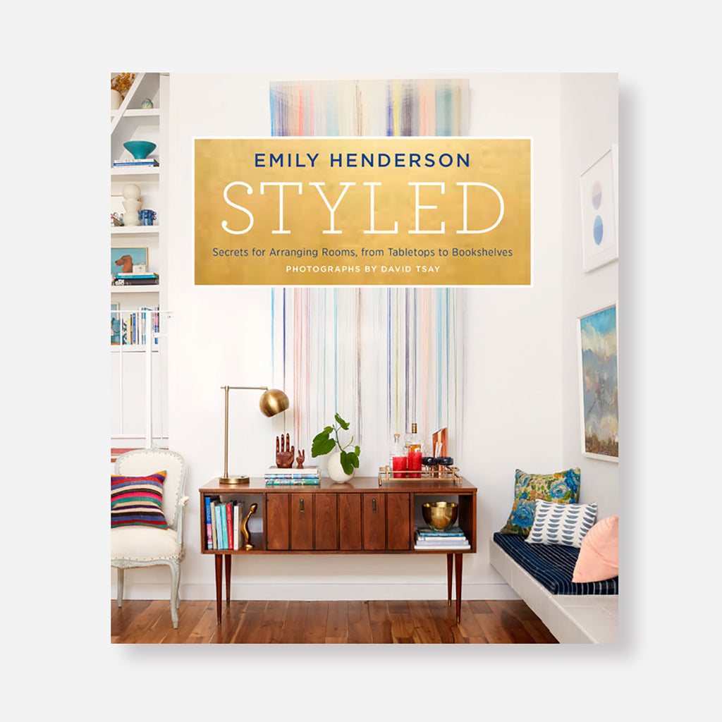 Styled - Secrets for Arranging Rooms Book by Emily Henderson - Shop interior design books online at Jo & Co Home, Cornwall, UK