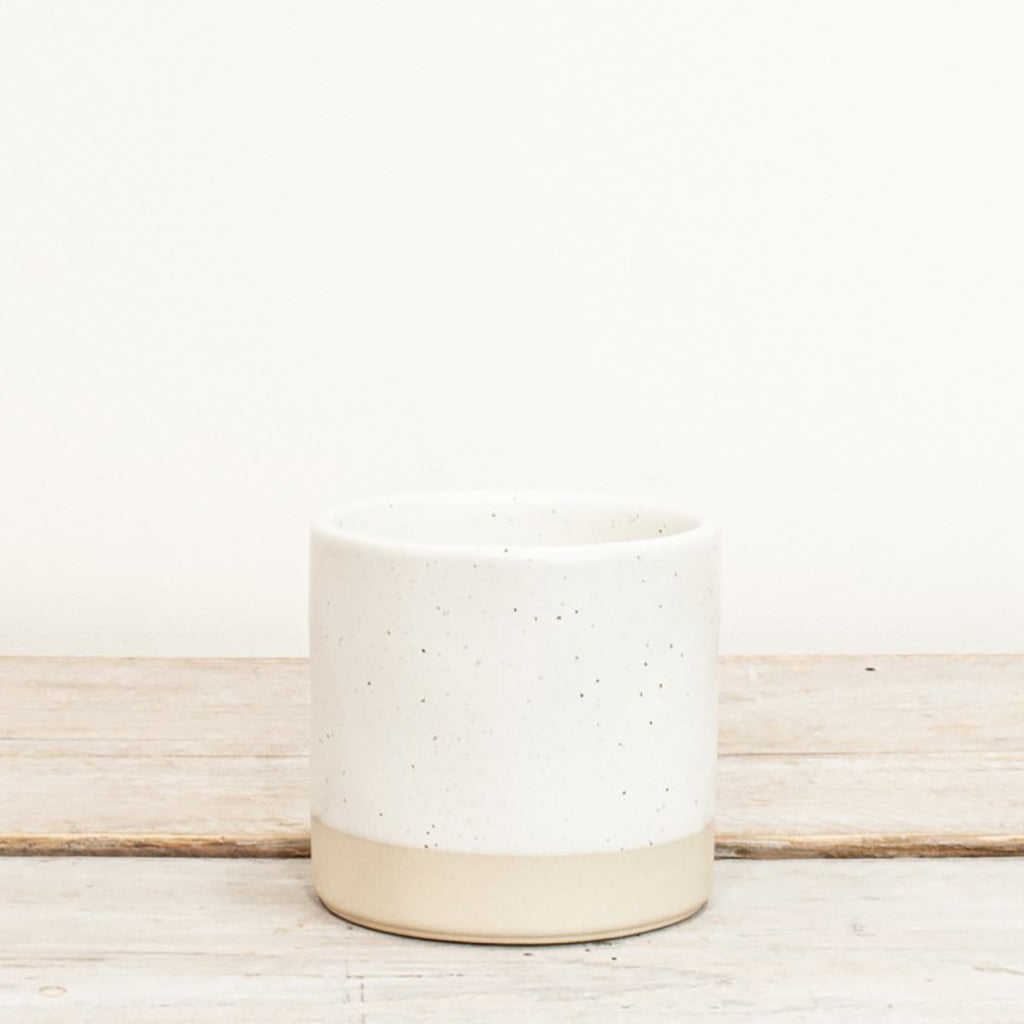 Tilli Small Ivory Speckled Pot