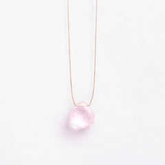 Rose Quartz Necklace | Jo & Co Home | Wanderlust Life