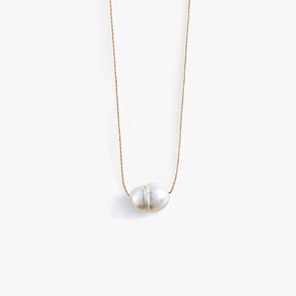 Wanderlust Life Freshwater Pearl Fine Cord Necklace