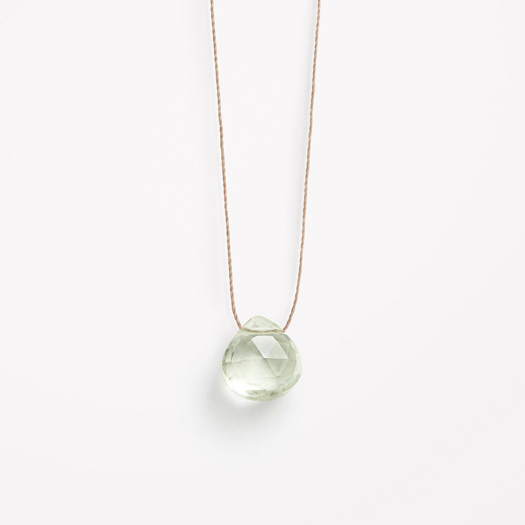 Wanderlust Life Mint Green Amethyst Necklace