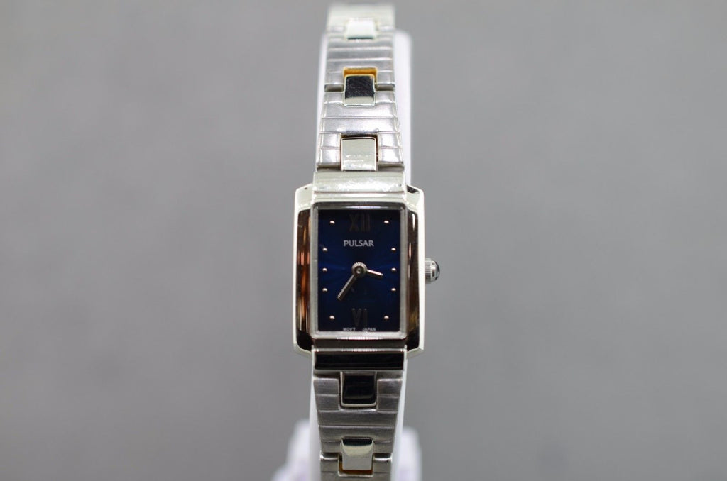 Pulsar Reversible Band Ladies Silver or Two Toned Watch