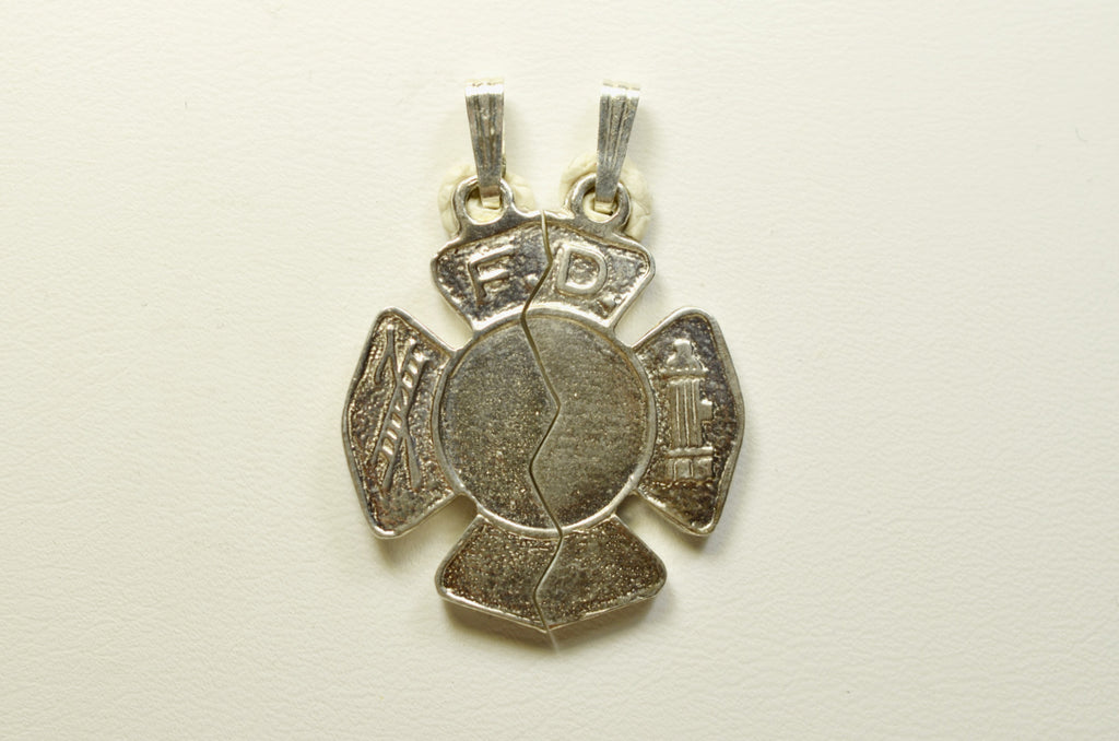 Sterling Silver Maltese Cross Mizpah II <br>12010501</br>