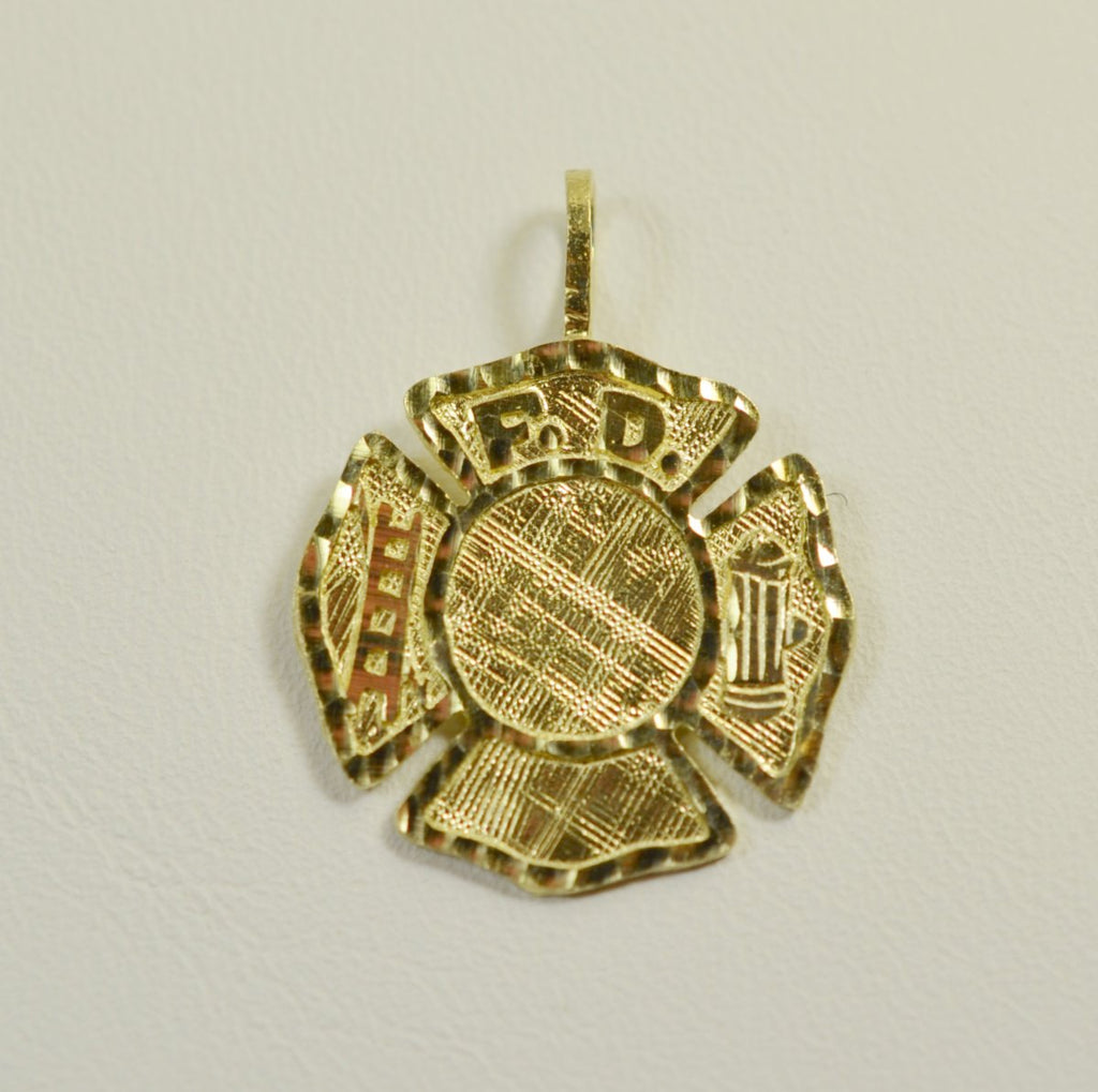 14K Yellow Gold Maltese Cross <br>1503</br>